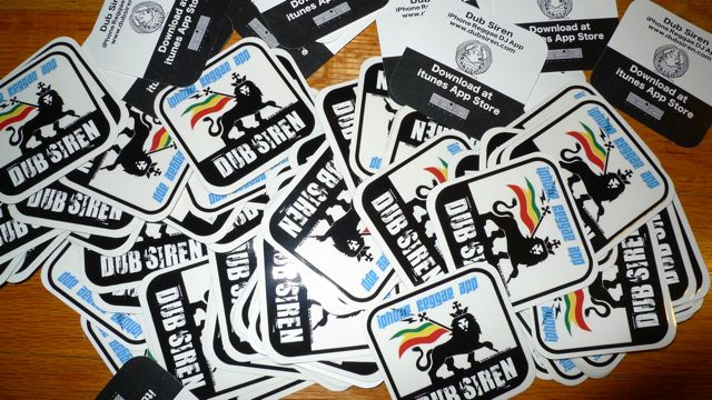 dubsiren stickers