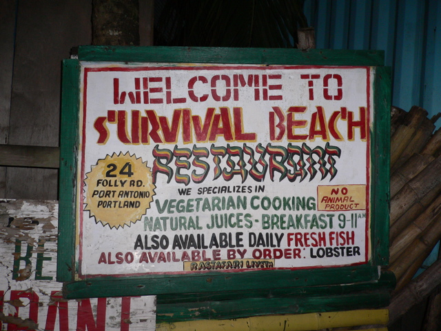 survival beach restaurant