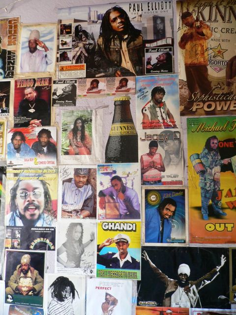 reggae artist wall poster